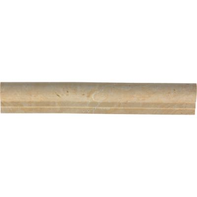 Daltile Marble Collection Champagne Gold (Chair Rail) M760212CR1L