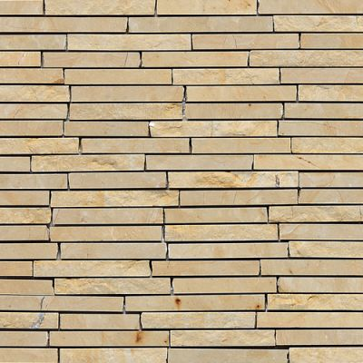 Daltile Marble Collection Champagne Gold (3/8″ Random Polished, Honed, Split Face) M76038RANDMS1P