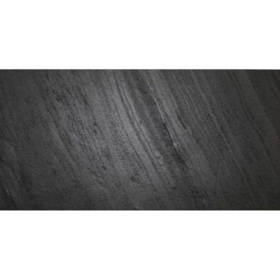 Daltile Slimlite Slate And Quartzite Black Gray/Black S1972448LITE1P