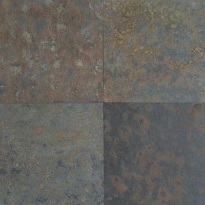 Slate Tile Indian Multicolor Natural Cleft Dal Tile Dal-Tile S77112241P