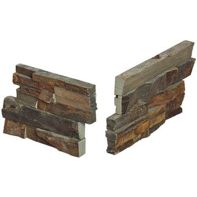 Daltile Stacked Stone Tibetan Slate (Stacked Stone Corner) S317CORNER1T