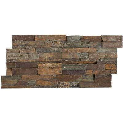 Daltile Stacked Stone Tibetan Slate (Stacked Stone Natural Cleft Ungauged) S317716STACK1T