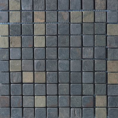Daltile Slate Collection Indian Multicolor (Tumbled) TS7011MS1P