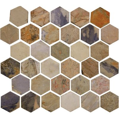 Daltile Slate Collection Autumn Mist (Beehive Natural Cleft) S77222BHVMS1P