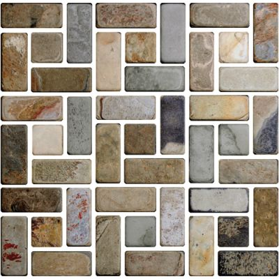 Daltile Slate Collection Autumn Mist (s Pattern Natural Cleft) Brown S772SPATTMS1P