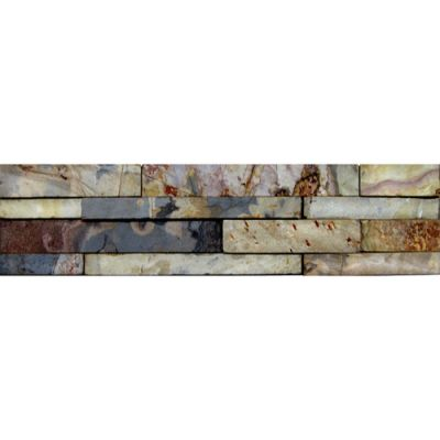 Daltile Slate Collection Autumn Mist (random Tinda Natural Cleft) Brown S772416TINDMS1P