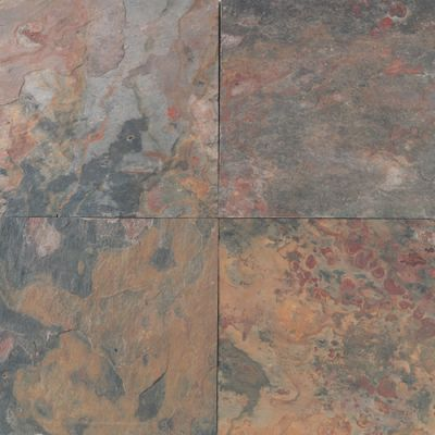 Daltile Slate Collection Sunset Glory  (Natural Cleft Gauged) S77512121P