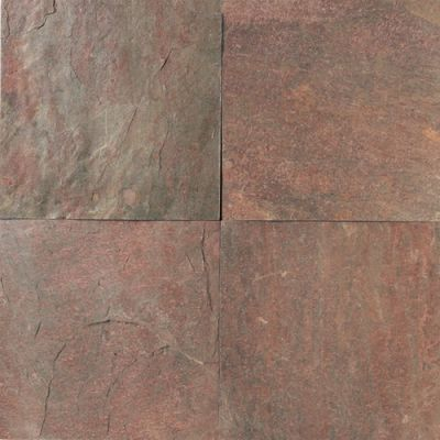 Daltile Slate Collection Copper  (natural Cleft Gauged) Terra Cotta's S77616161P