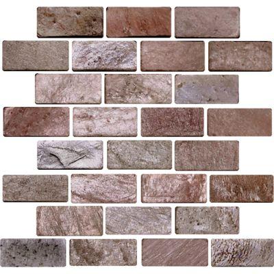 Daltile Slate Collection Copper (Brickjoint Natural Cleft) S77613BRICKMS1P