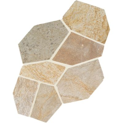Daltile Natural Quartzite Golden Sun (Pattern Flagstone Natural Cleft Gauged) S783PATTNFLAG1P