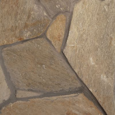 Daltile Natural Quartzite Golden Sun (Loose Flagstone Random Sizes Natural Cleft Ungauged) S783FLAGSTN1P