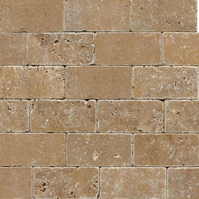 Daltile Travertine Collection Noce (tumbled) Brown T31136TS1P