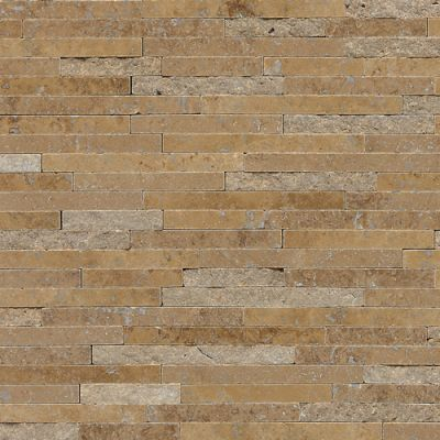 Daltile Travertine Collection Noce (3/8″ Random Polished, Honed, and Split Face) T31138RANDMS1P