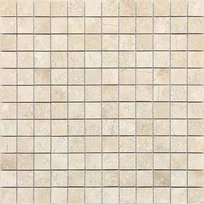 Daltile Travertine Collection Baja Cream (honed) White/Cream T72011MS1U
