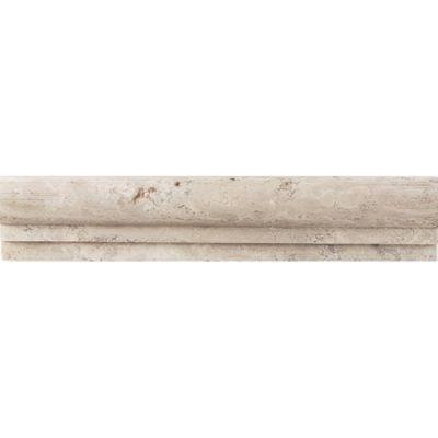 Daltile Travertine Collection Baja Cream (Chair Rail) T720212CR1U