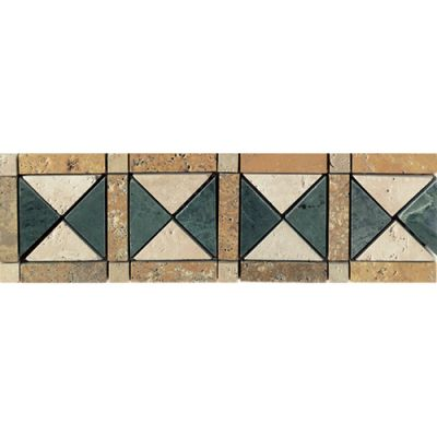 Daltile Travertine Collection Termessos Beige/Taupe TS64413BR1P
