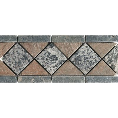 Daltile Slate Collection Ocean Green / Copper / Fancy Green TS75411BR1P