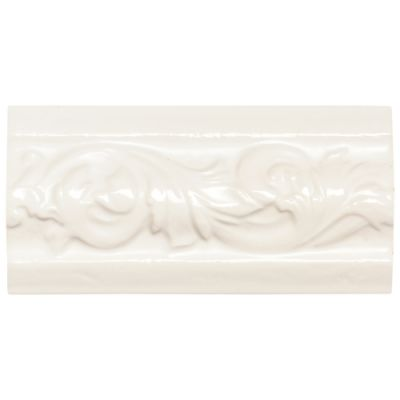 Daltile Rittenhouse Square White Classic White/Cream K10136DECOA1P
