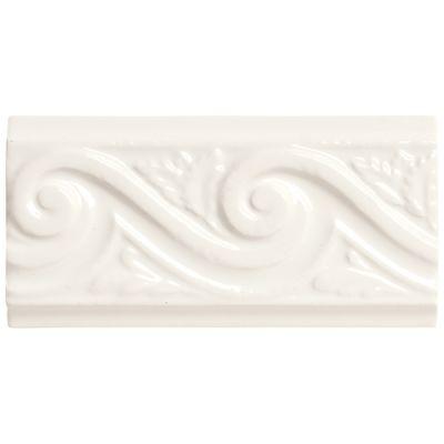 Daltile Rittenhouse Square White Wave K10136DECO1P