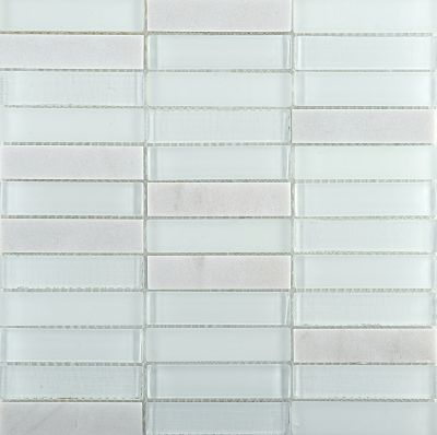 Emser Illumina Stone & Glass Blend Glass Gloss Flare W89ILLUFL1212MOB