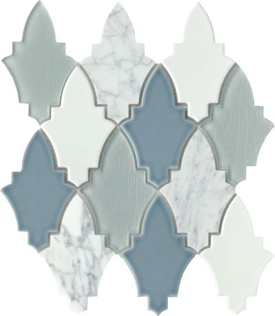 Emser Fleur Glass Viole W94FLEUVI1112MO