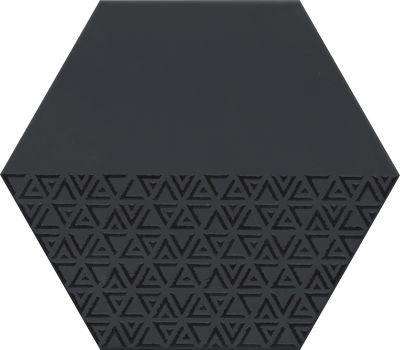 Emser Rhythm Porcelain Matte/Satin Black F36RHYTHXPABK1113