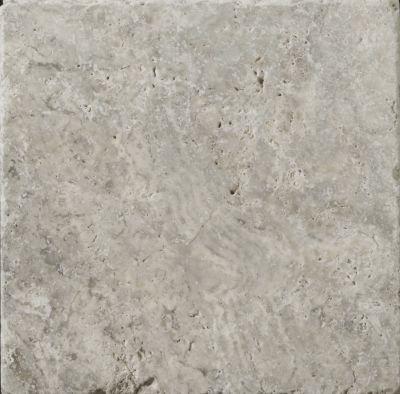 Emser Trav Ancient Tumbled Silver Travertine, Antique & Tumbled Honed, Tumbled & Unfilled Silver T06TRAVSI0404AUT