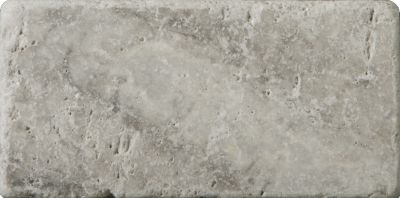 Emser Trav Ancient Tumbled Silver Travertine, Antique & Tumbled Honed, Tumbled & Unfilled Silver T06TRAVSI0306AUT