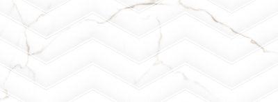 Emser Sculpture Ceramic Glossy White F26SCULCHWH1336