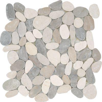 Emser Venetian Pebbles Flat Pebbles Satin Medici M18VENEME1212MF