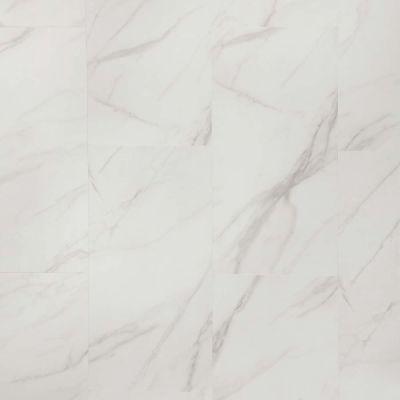 Mannington Adura® Luxury Vinyl Tile Flooring Legacy White with Beige AR410S