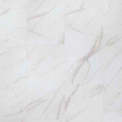 Mannington Adura® Luxury Vinyl Tile Flooring Legacy White with Gray AR410