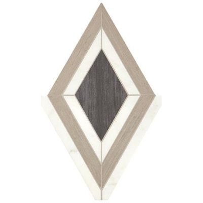 Marazzi Castellina™ Diamond White and Midnight Gray CT64-1912
