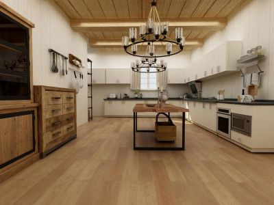 Biyork Floors Hydrogen 6 Plank BIYORK Simply WaterProof Floors creamy beige BYKRCEH50CB
