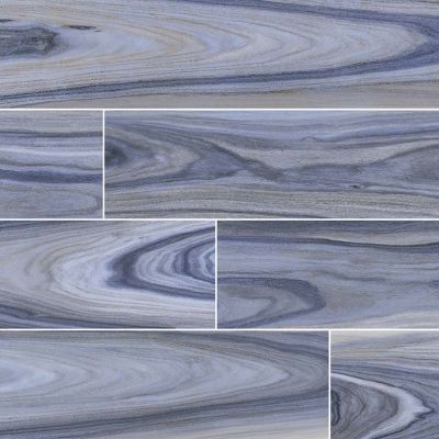 MSI Tile Dellano Wood Exotic Blue NDELEXOBLUE8X48P