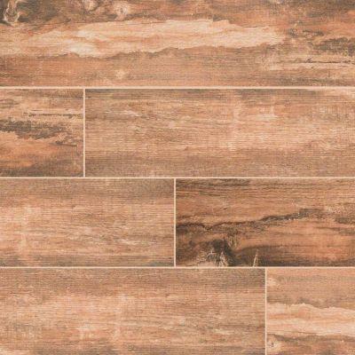 MSI Tile Salvage Wood,Wood Red NSALRED6X40