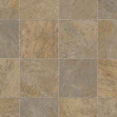 Mohawk Versatech Plus Tile Look Richmond Gold M184V-991A