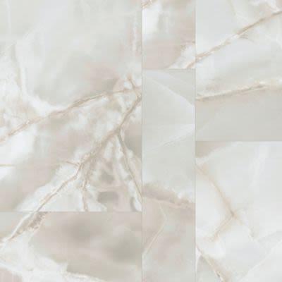 Karastan Unearthed Beauty Tile Look Cut Pearls KHS04-210