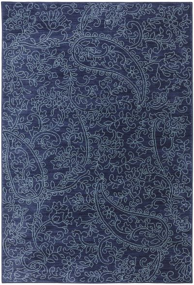 "Mohawk Savannah Kingston Indigo Blue 5'3″ x 7'10"" 9048750102063094IP"