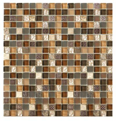 Mohawk Stone Treasure Brown Toffee T787-ST18-12×12-AccentTile-Stone