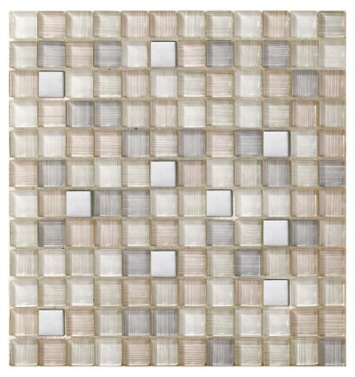 Mohawk Dynasty Bamboo Stone Clouded Leopard T817-DB03-12×12-MosaicFieldAccentTile-Stone