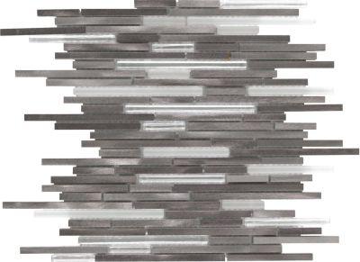 Mohawk Arbor Metals Nickel T818-AM07-12×12-MosaicBorder-Metal