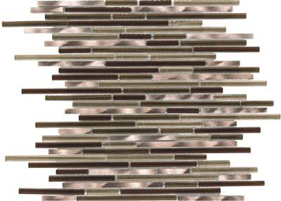 Mohawk Arbor Metals Iron T818-AM08-12×12-MosaicBorder-Metal