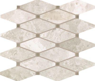Mohawk Chateau Elegant Stone Torino Cream T843-CE42-10.92×12.31-MosaicFieldAccentTile-Stone