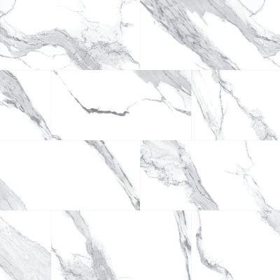 Mohawk Montrelle Porcelain Statuario Blanc T845-MN01-12×12-FieldTile-Porcelain