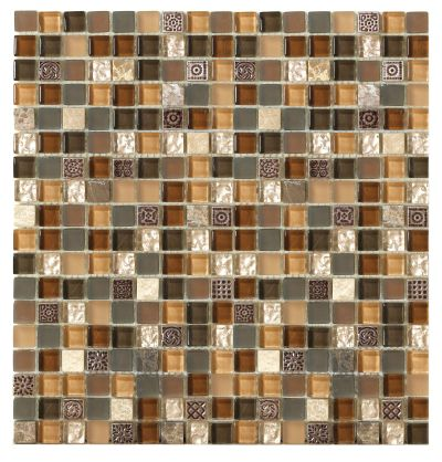 Mohawk Maraval Stone Brown Toffee T787F-ST18-12×12-AccentTile-Stone