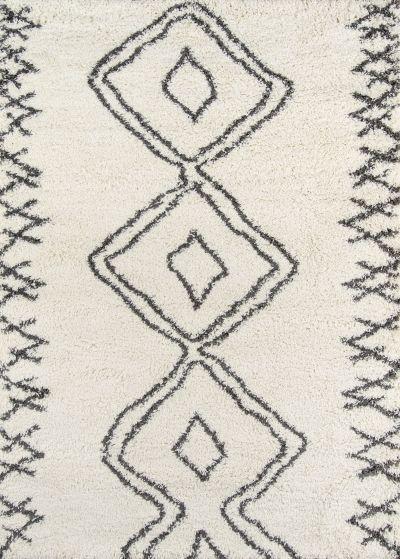 Momeni Maya May-1 Ivory 5'3″ x 7'6″ MAYA0MAY-1IVY5376