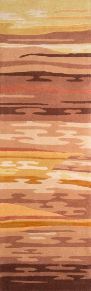 Momeni New Wave Nw-13 Sand 2'6″ x 12'0″ Runner NEWWANW-13SND26C0