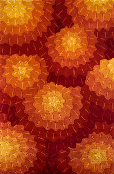 Momeni New Wave Nw-69 Orange 5'3″ x 8'0″ NEWWANW-69ORG5380