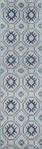 Momeni Nova Nov-4 Blue 2'3″ x 8'0″ Runner NOVA0NOV-4BLU2380